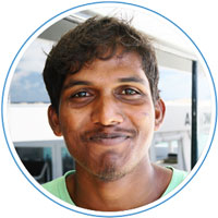 Aikey - Deck Boy - Manta Cruise Maldives