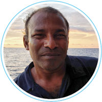 Batery - Captain - Manta Cruise Maldives