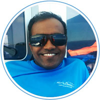 Habij - Compressor boy - Manta Cruise Maldives