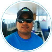 Mamoon - Compressor boy - Manta Cruise Maldives