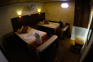 Twin Room - Manta Cruise Liveaboard - Twenty Six Atolls