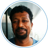 Ubey - Cooking chef - Manta Cruise Maldives