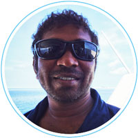 Wade - 2nd captain - Manta Cruise Maldives